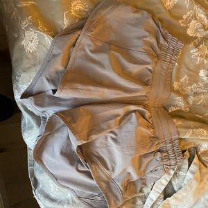 Lululemon dark chrome hotty hot shorts